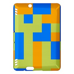 Tetris shapes Kindle Fire HDX Hardshell Case