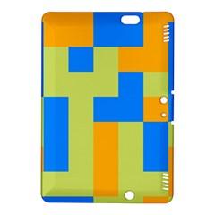 Tetris shapesKindle Fire HDX 8.9  Hardshell Case