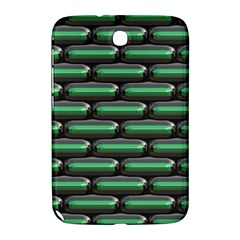 Green 3D rectangles pattern Samsung Galaxy Note 8.0 N5100 Hardshell Case