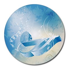 Music Round Mousepads