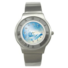 Music Stainless Steel Watches