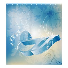 Music Shower Curtain 66  X 72  (large)