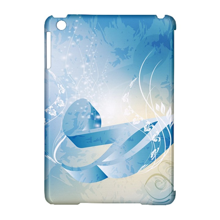 Music Apple iPad Mini Hardshell Case (Compatible with Smart Cover)