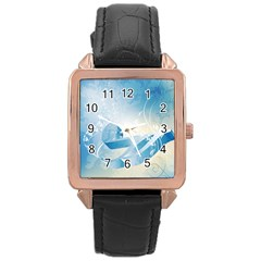 Music Rose Gold Watches