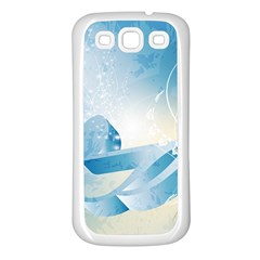Music Samsung Galaxy S3 Back Case (White)