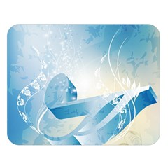 Music Double Sided Flano Blanket (Large)