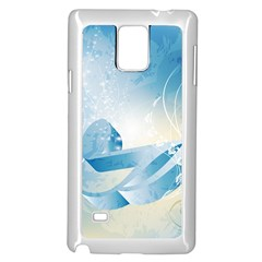 Music Samsung Galaxy Note 4 Case (White)