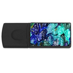 Strange Abstract 1 USB Flash Drive Rectangular (1 GB)