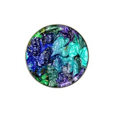 Strange Abstract 1 Hat Clip Ball Marker (4 pack)
