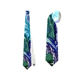 Strange Abstract 1 Neckties (one Side)