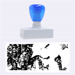 Strange Abstract 1 Rubber Stamps (Large)