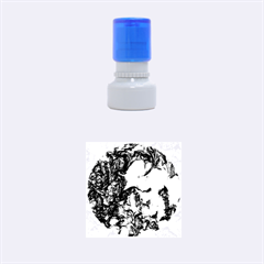 Strange Abstract 1 Rubber Round Stamps (Small)