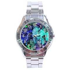 Strange Abstract 1 Stainless Steel Men s Watch