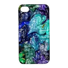 Strange Abstract 1 Apple iPhone 4/4S Hardshell Case with Stand