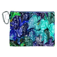 Strange Abstract 1 Canvas Cosmetic Bag (XXL)