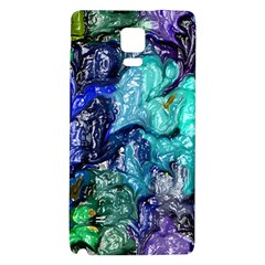 Strange Abstract 1 Galaxy Note 4 Back Case