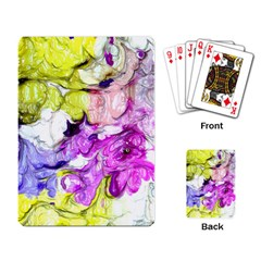Strange Abstract 2 Soft Playing Card