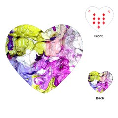 Strange Abstract 2 Soft Playing Cards (heart)