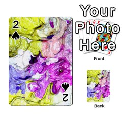 Strange Abstract 2 Soft Playing Cards 54 Designs