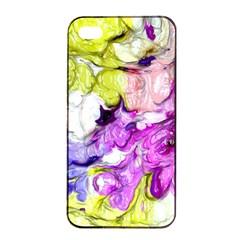 Strange Abstract 2 Soft Apple Iphone 4/4s Seamless Case (black)