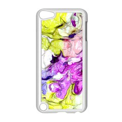 Strange Abstract 2 Soft Apple iPod Touch 5 Case (White)
