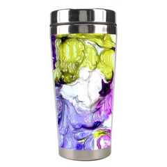 Strange Abstract 2 Soft Stainless Steel Travel Tumblers