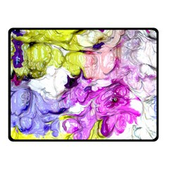 Strange Abstract 2 Soft Double Sided Fleece Blanket (Small)