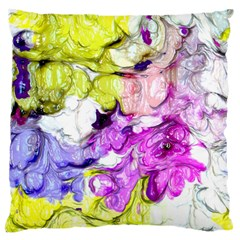 Strange Abstract 2 Soft Large Flano Cushion Cases (Two Sides)