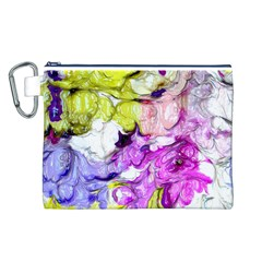 Strange Abstract 2 Soft Canvas Cosmetic Bag (L)