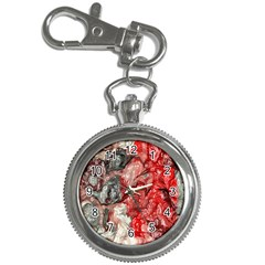 Strange Abstract 3 Key Chain Watches