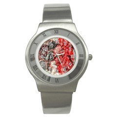 Strange Abstract 3 Stainless Steel Watches