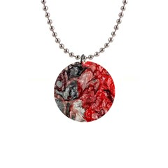 Strange Abstract 3 Button Necklaces