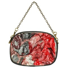 Strange Abstract 3 Chain Purses (Two Sides)