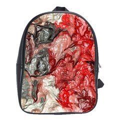 Strange Abstract 3 School Bags(Large)