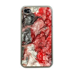 Strange Abstract 3 Apple iPhone 4 Case (Clear)
