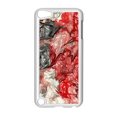Strange Abstract 3 Apple iPod Touch 5 Case (White)