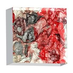 Strange Abstract 3 5  x 5  Acrylic Photo Blocks