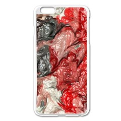 Strange Abstract 3 Apple iPhone 6 Plus/6S Plus Enamel White Case