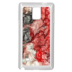 Strange Abstract 3 Samsung Galaxy Note 4 Case (White)