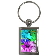 Strange Abstract 4 Key Chains (Rectangle)