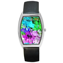 Strange Abstract 4 Barrel Metal Watches
