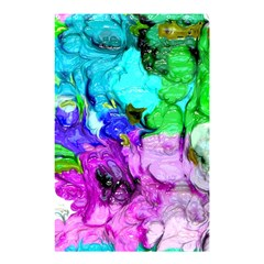 Strange Abstract 4 Shower Curtain 48  X 72  (small)