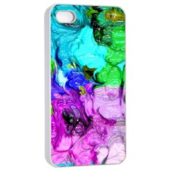 Strange Abstract 4 Apple Iphone 4/4s Seamless Case (white)