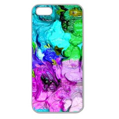 Strange Abstract 4 Apple Seamless iPhone 5 Case (Clear)