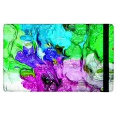 Strange Abstract 4 Apple iPad 3/4 Flip Case
