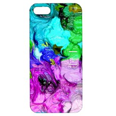 Strange Abstract 4 Apple iPhone 5 Hardshell Case with Stand