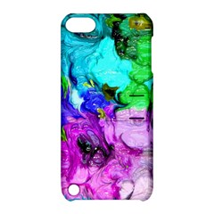 Strange Abstract 4 Apple iPod Touch 5 Hardshell Case with Stand