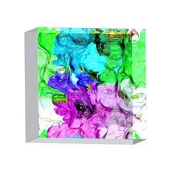 Strange Abstract 4 4 x 4  Acrylic Photo Blocks