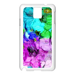 Strange Abstract 4 Samsung Galaxy Note 3 N9005 Case (White)