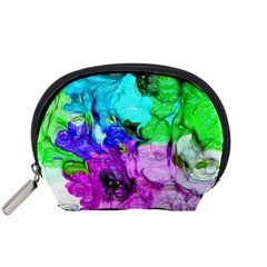 Strange Abstract 4 Accessory Pouches (Small)